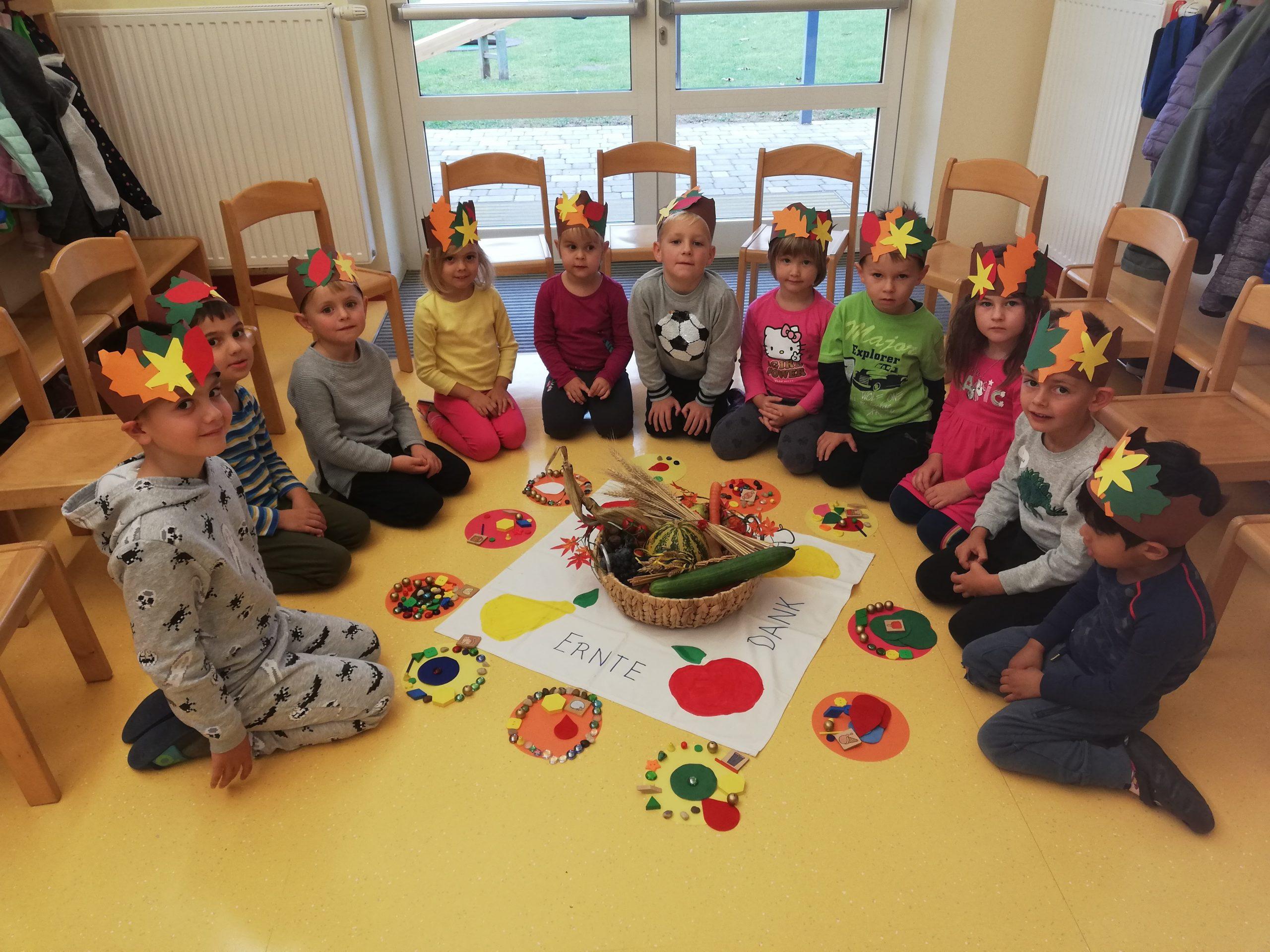 Erntedankfest im Kindergarten