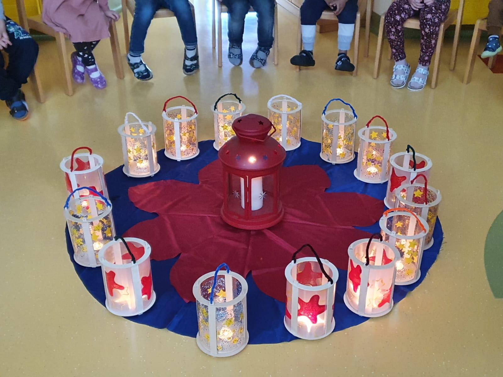 Laternenfest im Kindergarten 2020