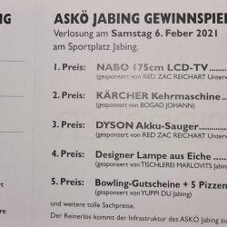 ASKÖ Jabing verschiebt Verlosung!