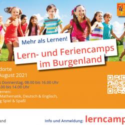 Lern- und Feriencamps für Kinder im Burgenland