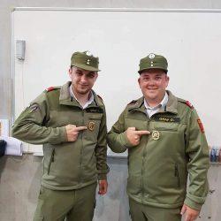 Feuerwehrmatura für Dominik und Florian Graf