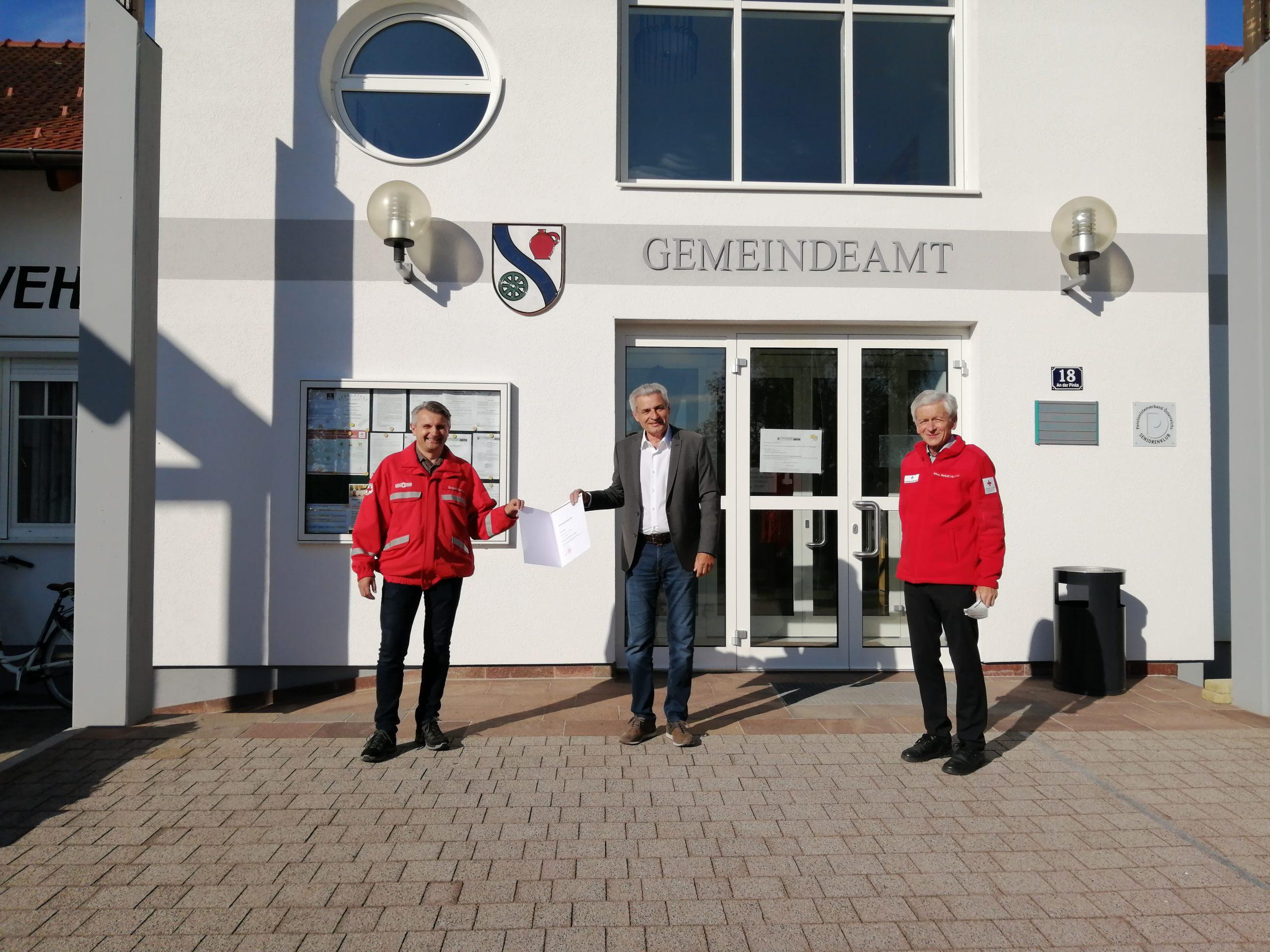 Rotes Kreuz: Neuer Ortsstellenleiter in Jabing