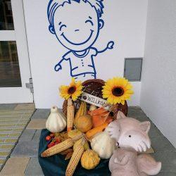 Erntedank im Kindergarten